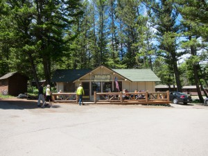 General Store at Roosevelt Lodge by Susan Manlin Katzman