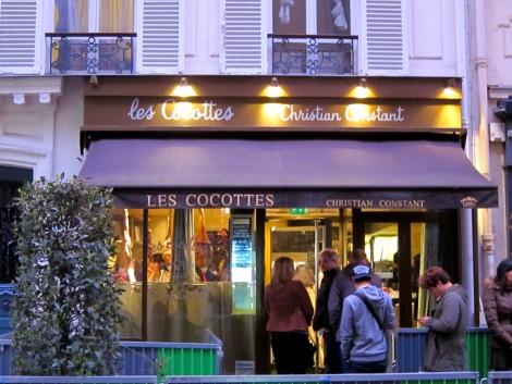 Les Cocottes de Christian Constant Tour Eiffel by Susan Manlin Katzman