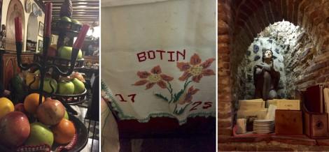 Collage of Decor at Botín by Susan Manlin Katzman