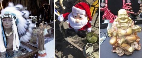 Flea Market Culture collage by Susan Manlin Katzman