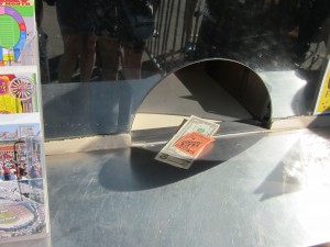 Ticket Window at Rose Bowl Flea Market