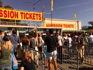 Admission Tickets Rose Bowl by Susan Manlin Katzman
