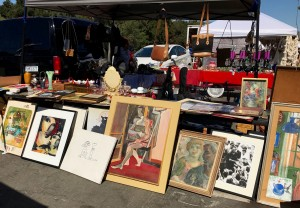 Rose Bowl Flea Market Art