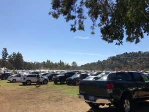 Rose Bowl Parking Lot