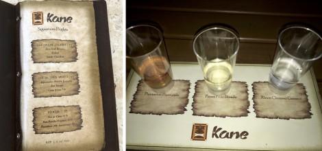 Rum Flights at Kane