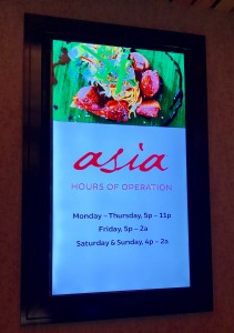 Asia Open Hours