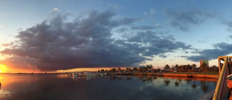 Lake Charles at Sunset by Susan Manlin Katzman