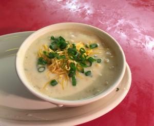 Steamboat Bill's Corn and Shrimp Chowder by Susan Manlin Katzman