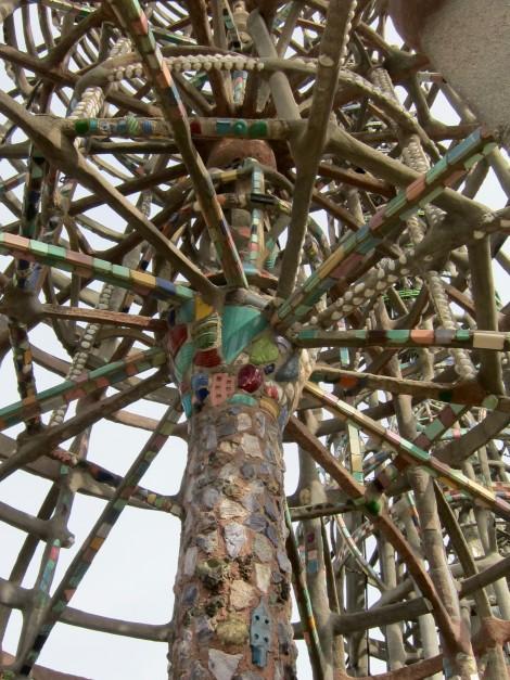 Inside Look at Simon Rodia Tower by Susan Manlin Katzman