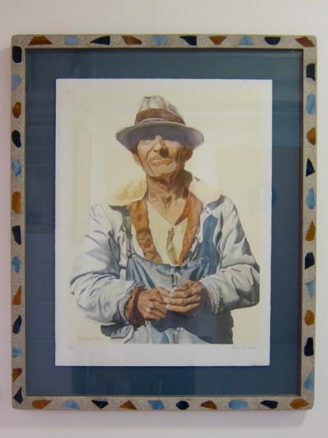 Painting of Simon Rodia