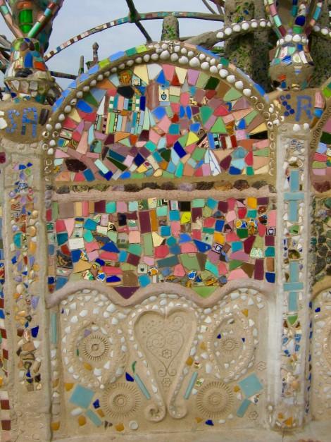 Detail at Simon Rodia State Historic Park by Susan Manlin Katzman