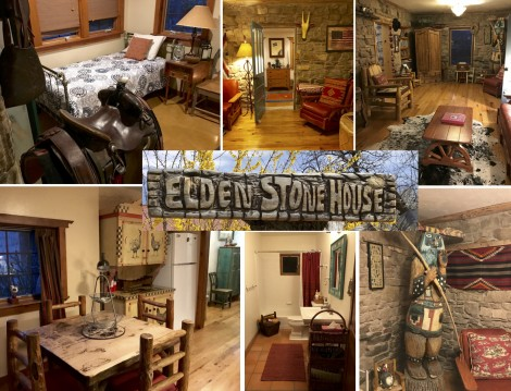 Elden Stone House Decor Collage by Susan Manlin Katzman