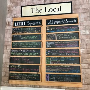 Specials at The Local Restaurant in Naples, FL/SweetLeisure.com