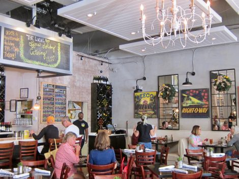 Inside The Local Restaurant in Naples, FL./SweetLeisure.com