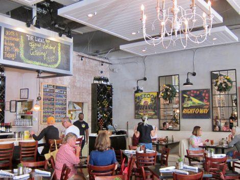Inside The Local Restaurant in Naples, FL./SweetLeisure.com