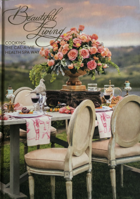 Cover of Beautiful Living book.