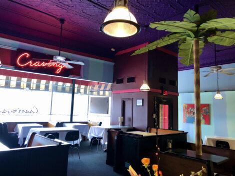 Inside Cravings Restaurant
