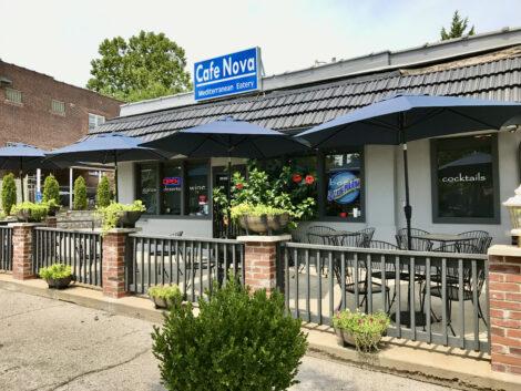 Outside of Cafe Nova