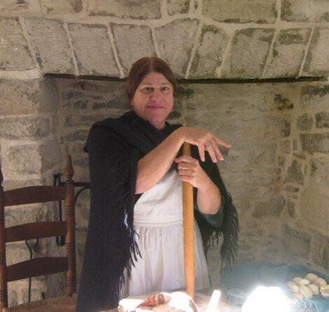 Suzanne Corbett in Costume